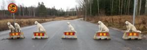 Nya väghinder i Katrineholm